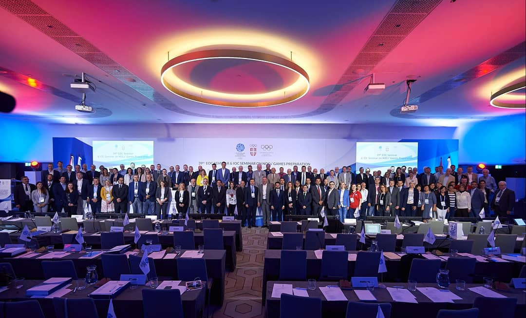 Kosovo were among the 50 European NOCs to participate at a seminar in Belgrade ©Twitter/Team Serbia