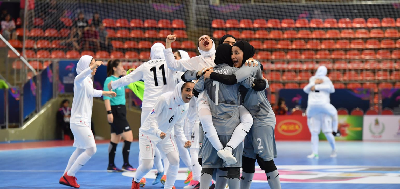 Iran successfully defended their Asian Women's Futsal Championship title as they claimed a 5-2 comfortable victory over Japan ©AFC