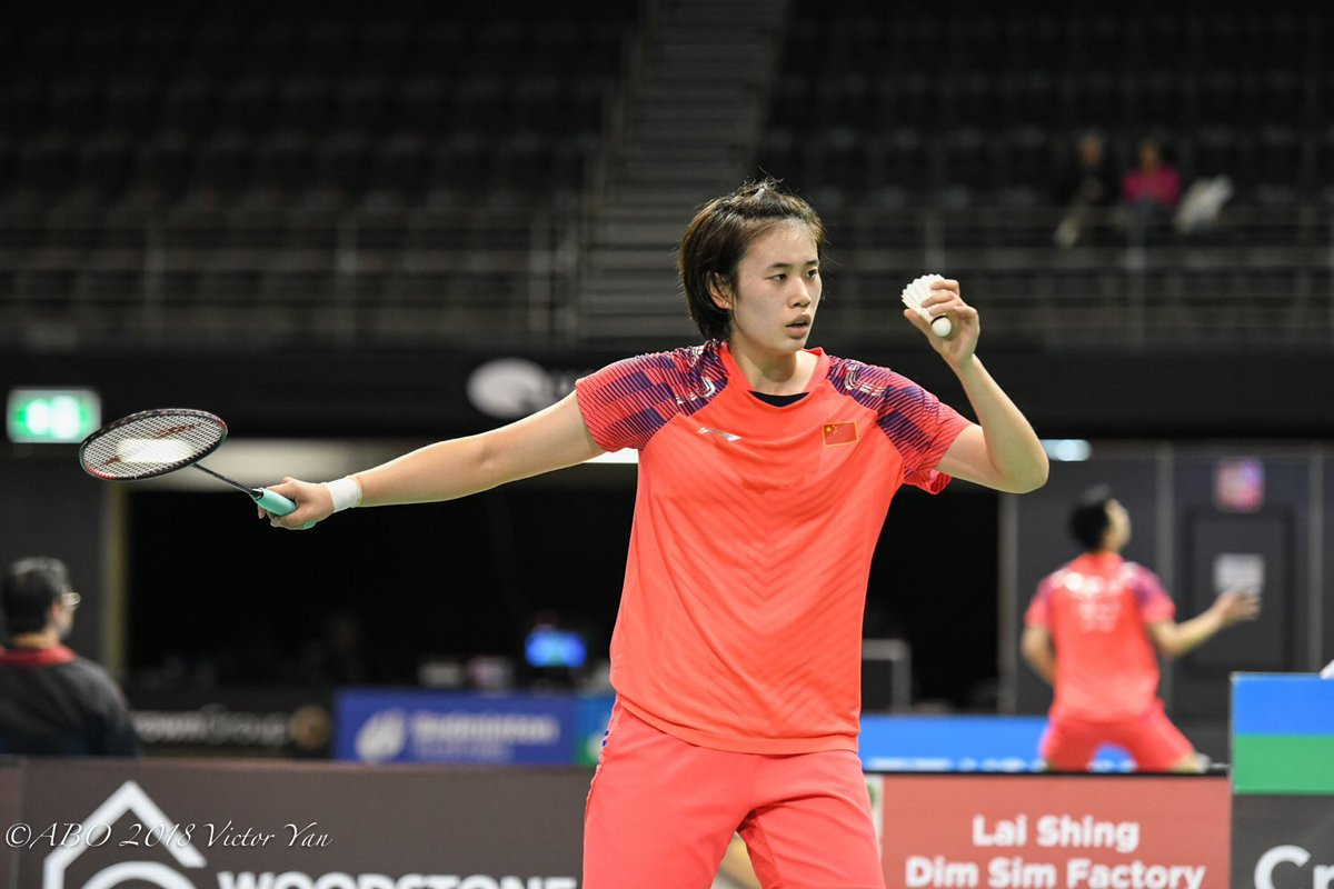 Unseeded Cai surprises third favourite Cheung to reach women's singles final at BWF Australian Open