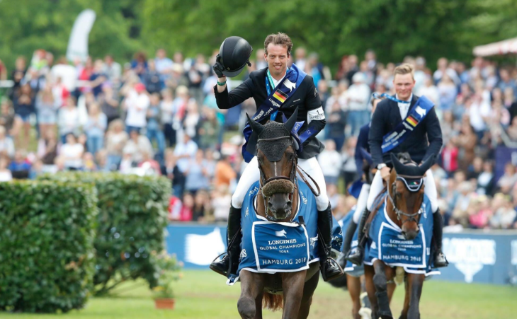 World number one Smolders wins Longines Global Champions Tour leg in Hamburg