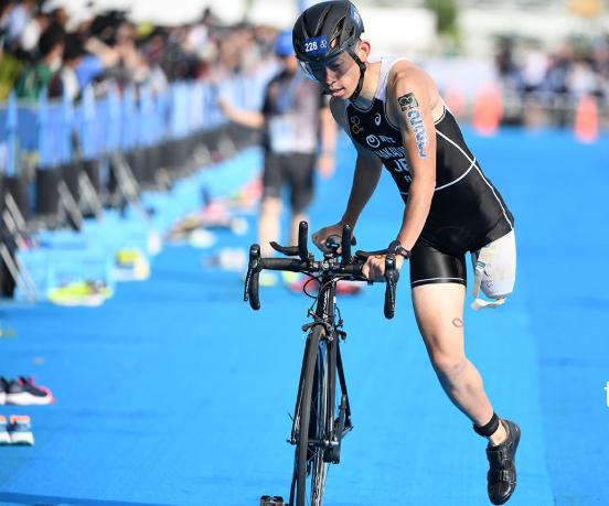 Home stars among winners at ITU World Paratriathlon Series in Yokohama