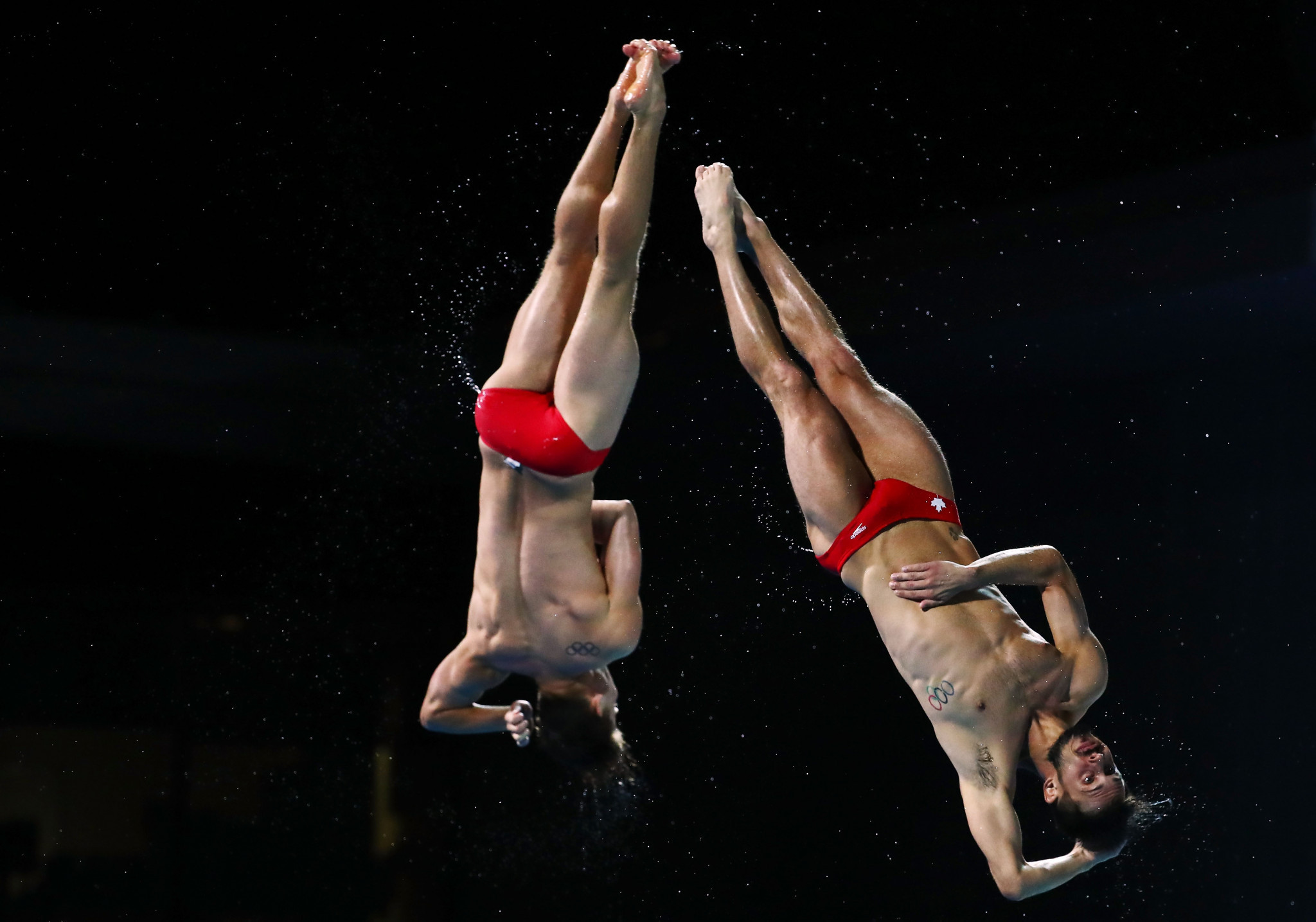 Francois Imbeau-Dulac and Philippe Gagne won in home water in Canada ©Getty Images