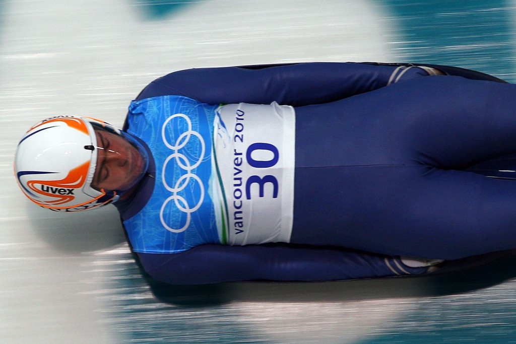 Georgian luger Nodar Kumaritashvili was tragically killed in a training accident at the Vancouver 2010 Winter Olympic Games ©Getty Images