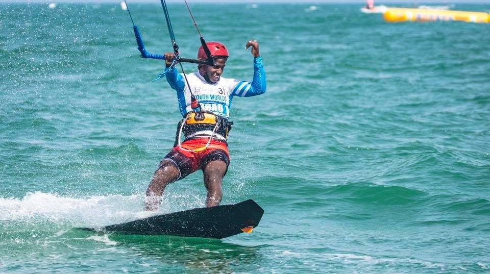 Corniel secures Dominican Republic's kiteboarding place at Buenos Aires 2018