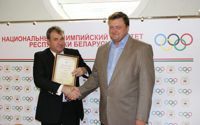 Olympic champion Dovgalenok appointed Belarus Chef de Mission for Buenos Aires 2018