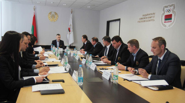 The decision was made at a Belarus Olympic Committee meeting in Minsk ©Belarus Olympic Committee