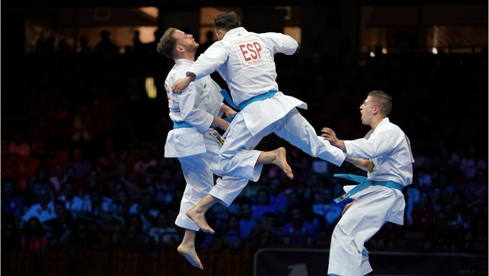 Spain secure top spot in medal table as action concludes at European Karate Championships