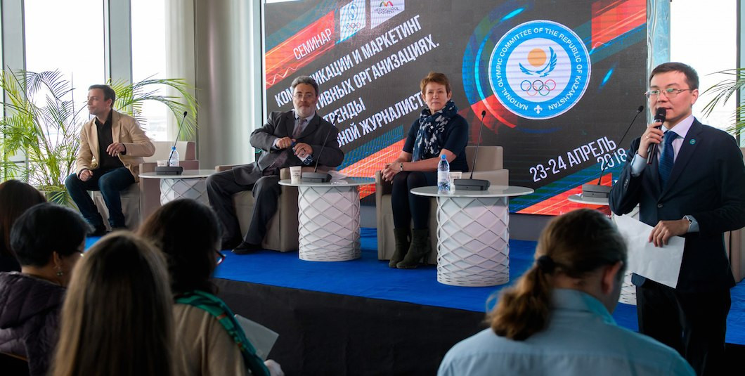 Kazakhstan NOC host sports marketing seminar