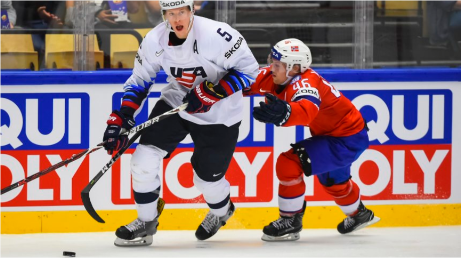 The United States beat Norway 9-3 today to make it six wins out of six in Group B at the IIHF World Championships in Denmark ©Matt Zambonin/HHOF-IIHF Images