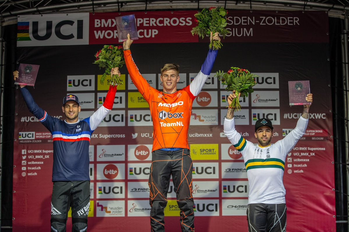 Niek Kimmann claimed back-to-back wins in Heusden-Zolder ©UCI