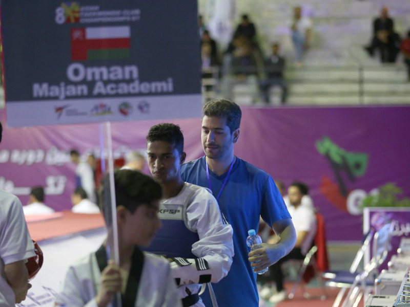 Oman taekwondo team head coach vows to improve technical level of country's athletes