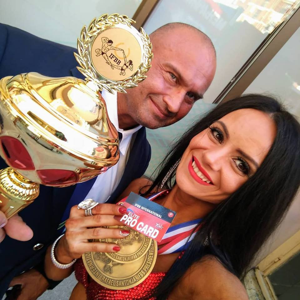 Gavrikova claims overall women's bikini fitness crown at IFBB Diamond Cup