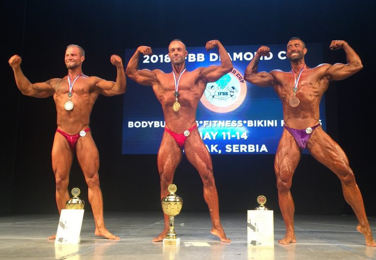 The IFBB Diamond Cup saw hundreds of male and female athletes descend on Čačak ©IFBB