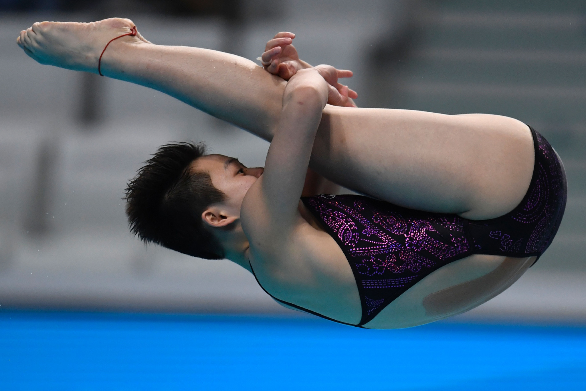 Chen Yiwen helped China achieve a gold medal haul of four on the final day of action in Calgary ©Getty Images