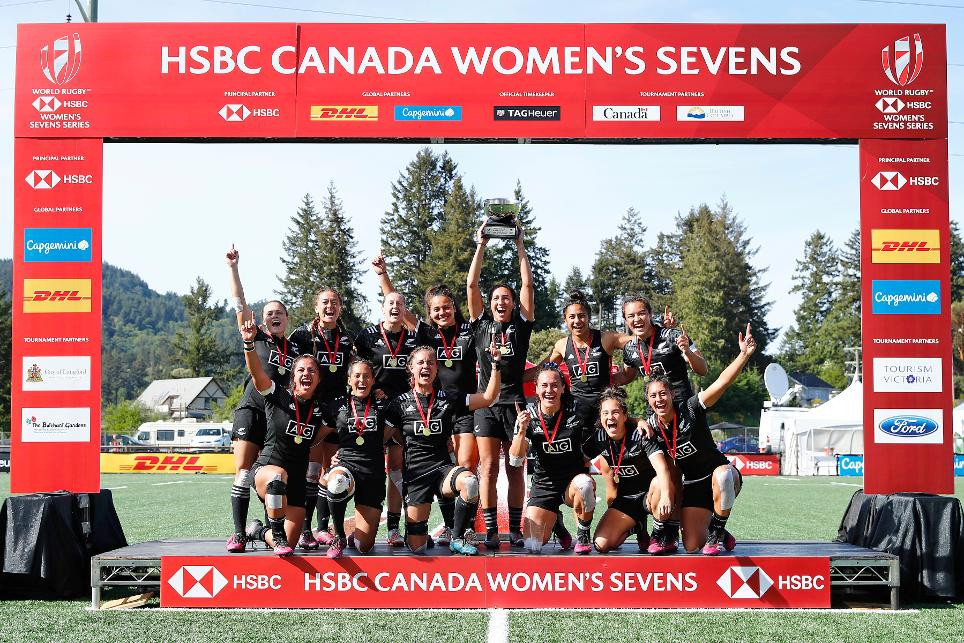 New Zealand beat Australia to top honours at World Rugby Women's Sevens Series in Langford
