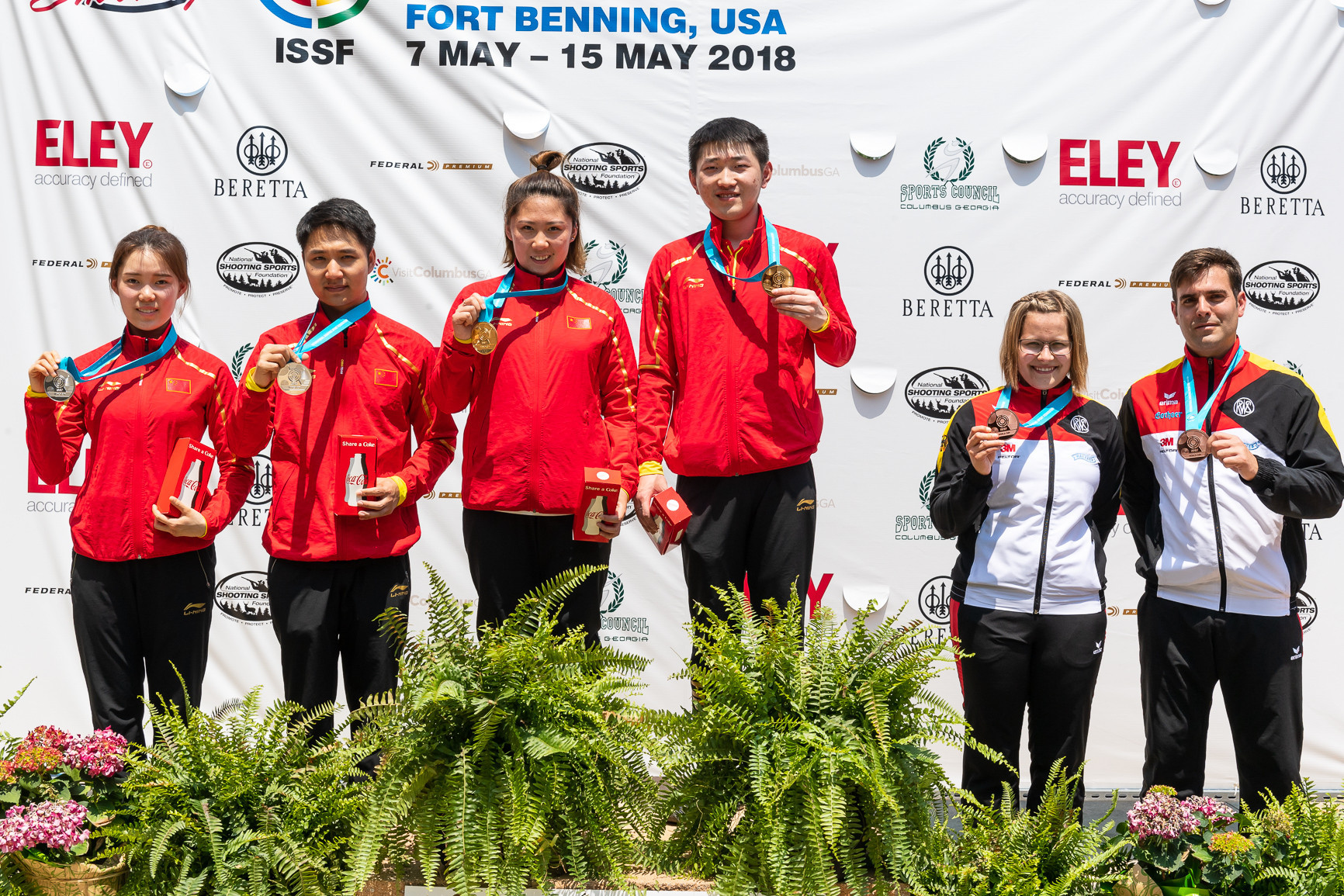 China top medal table at ISSF World Cup in Fort Benning after final day gold