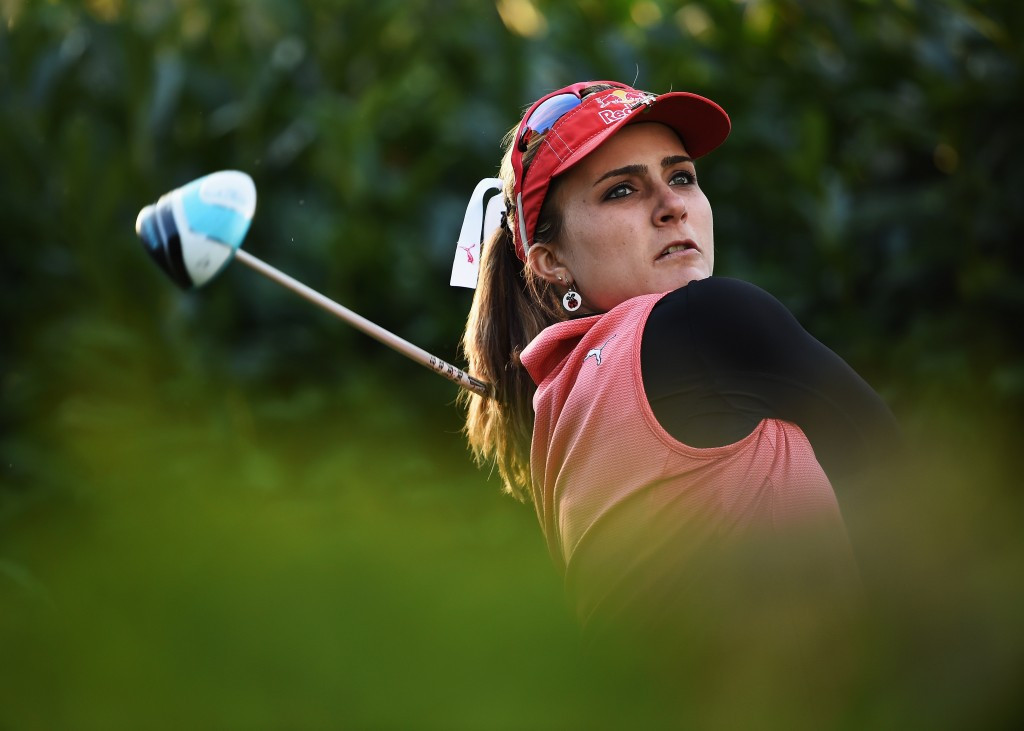 Mi Hyang Lee and Lexi Thompson share lead after opening day of Evian Championships as Inbee Park endures difficult day