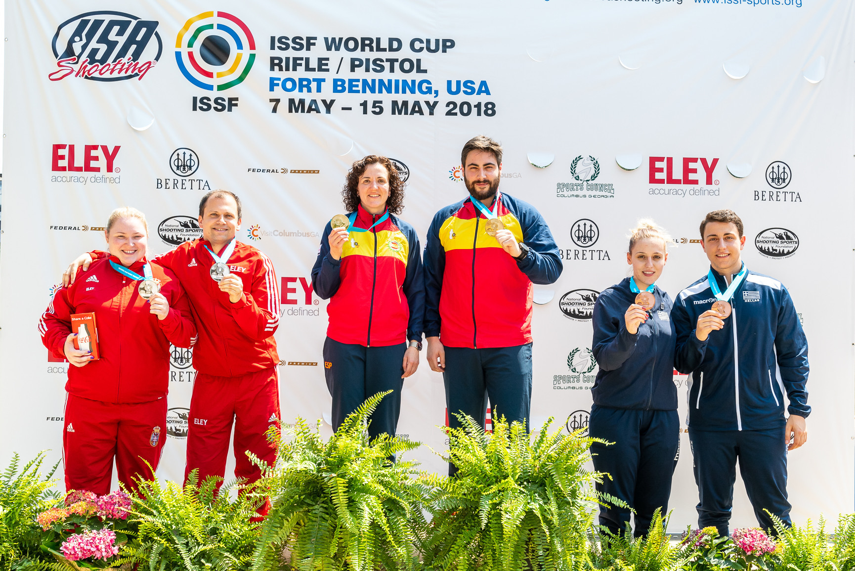 Spain also clinched a final day title in Fort Benning ©ISSF
