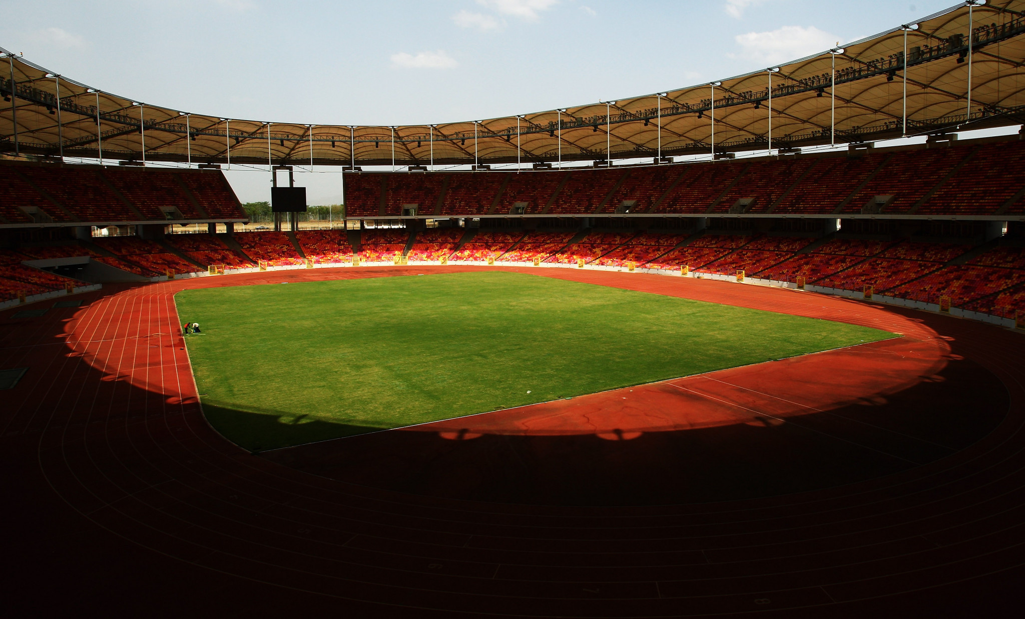 The Abuja National Stadium in Nigeria's capital ©Getty Images