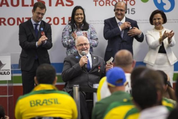 International Paralympic Committee President visits Brazil's new training centre in São Paulo