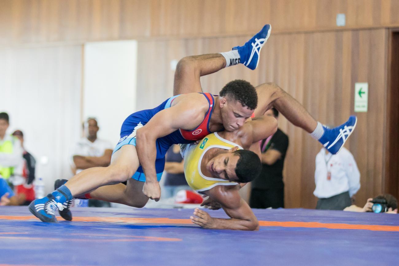 Olympic champion Borrero Molina flying high in UWW Greco-Roman world rankings