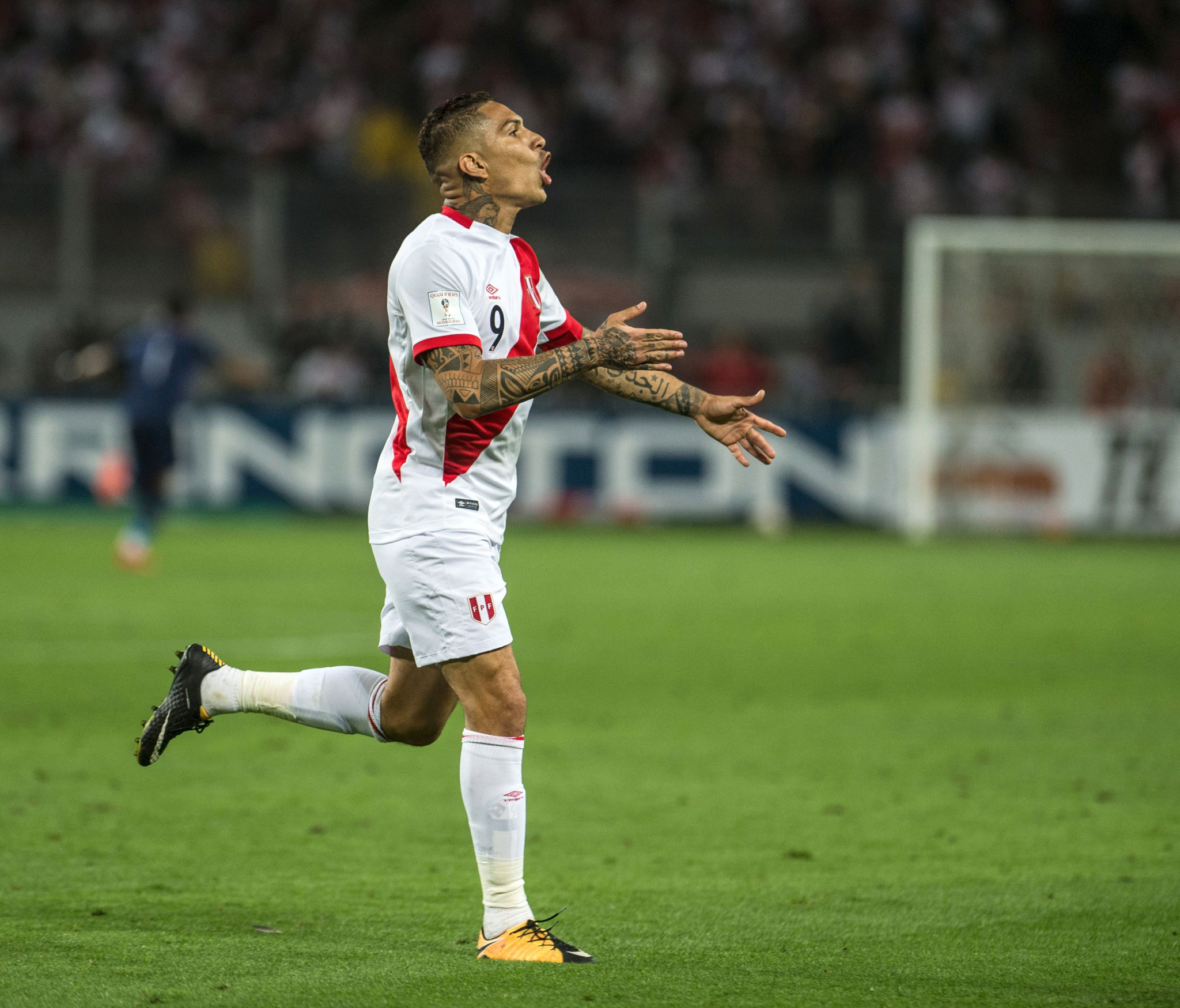 Paolo Guerrero will now miss his country's first World Cup since 1982 ©Getty Images