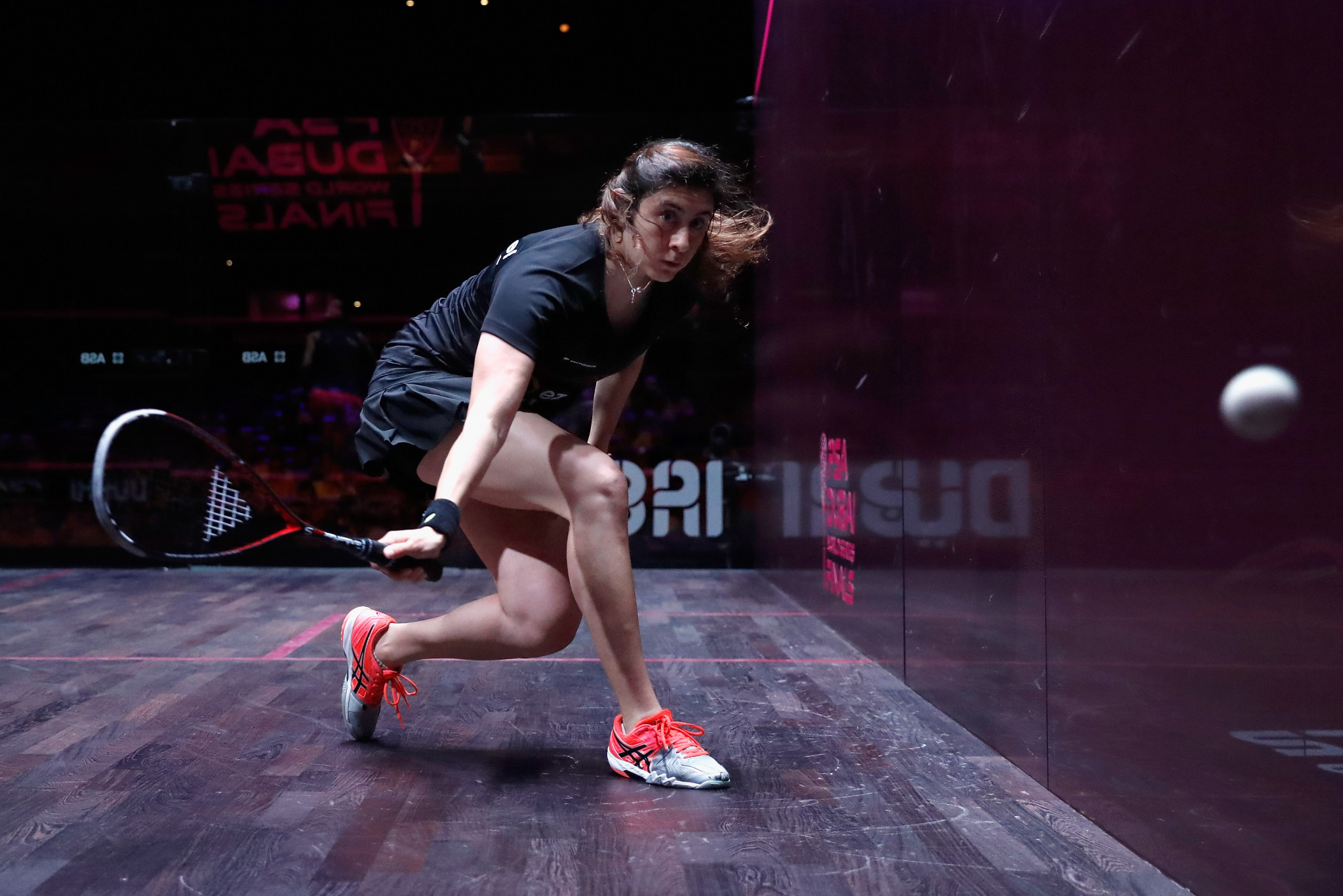Nour El Sherbini has been women's world number one for two years ©Getty Images