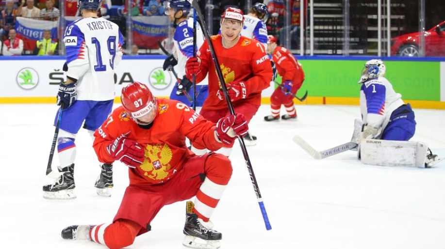 Russia to meet Sweden in Group A decider after beating Slovakia at IIHF World Championship