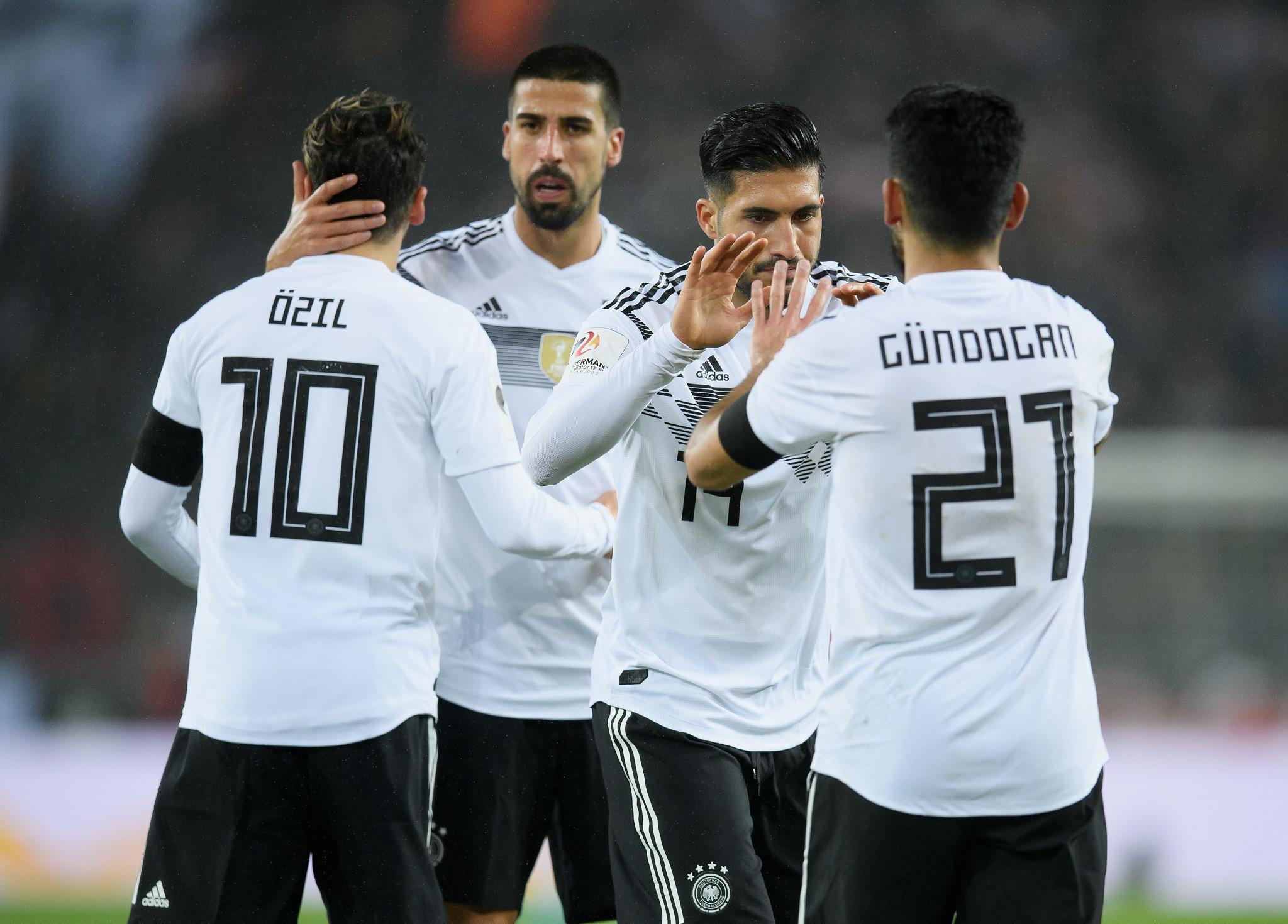 German internationals Özil and Gündogan criticised for meeting Turkish President Erdogan