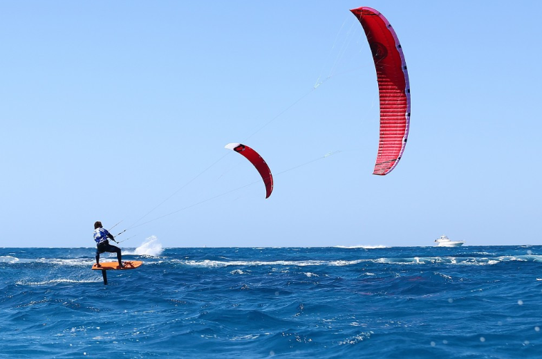 Kiteboarding has been proposed for inclusion at the Paris 2024 Olympics ©World Sailing