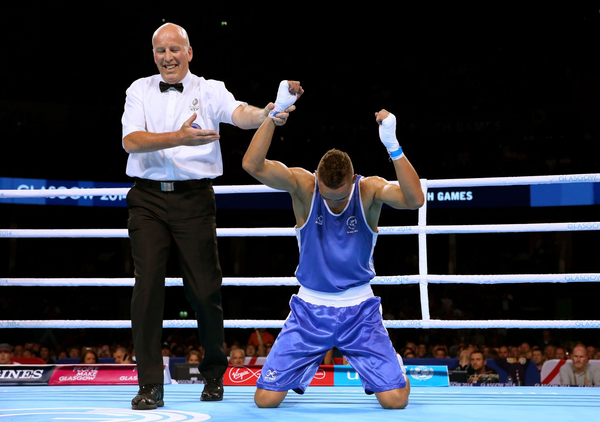 David Nyika has won gold at two consecutive Commonwealth Games ©Getty Images