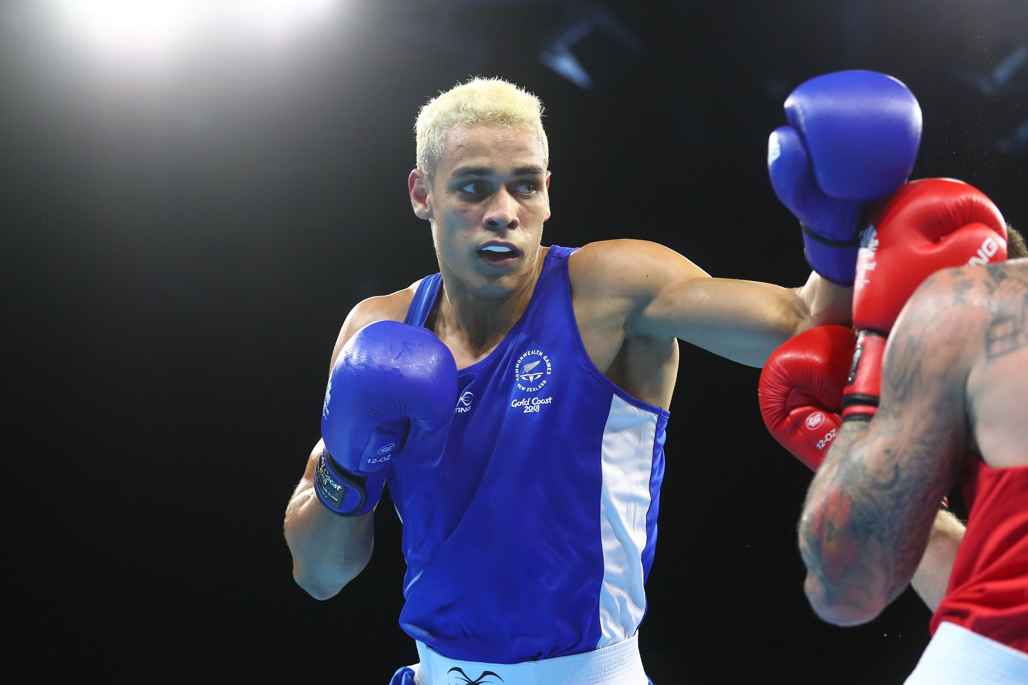 David Nyika moved up from light heavyweight to heavyweight for Gold Coast 2018 ©Getty Images