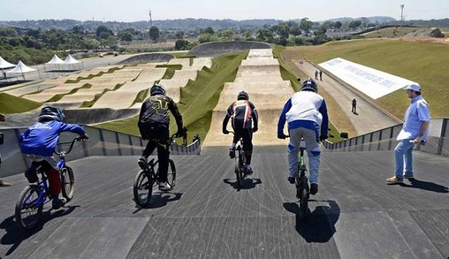 Rio 2016 BMX course ready to roll after unveiled by city's Government