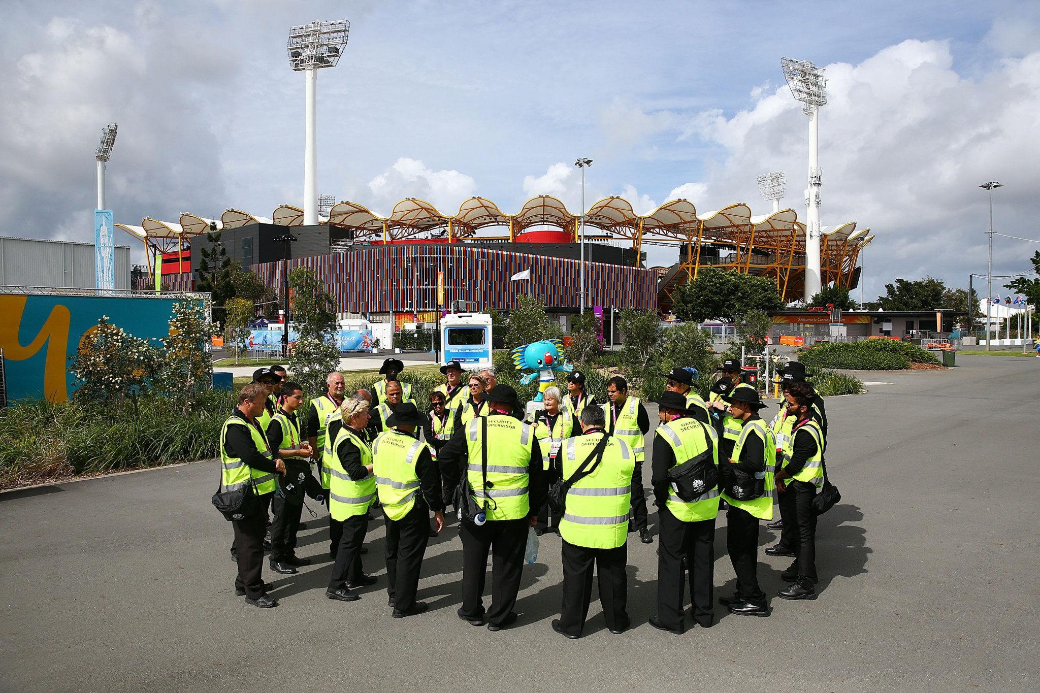 Security contractors are still yet to be paid following the Gold Coast 2018 Commonwealth Games ©Getty Images