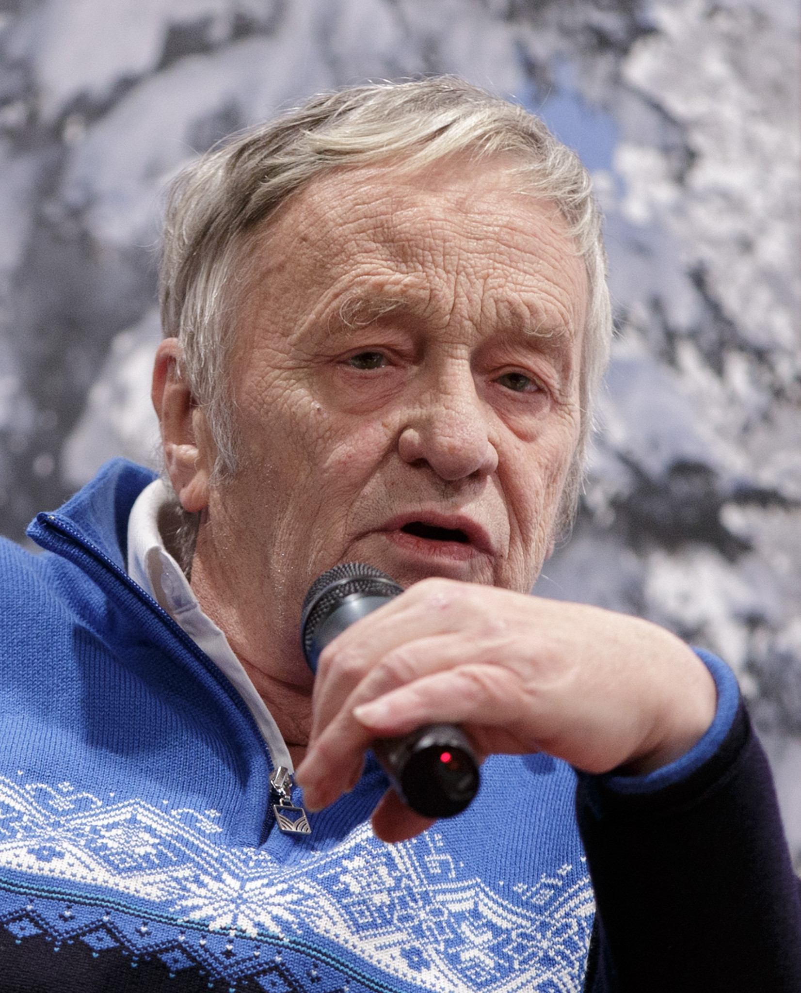 Gian-Franco Kasper is poised for reelection at the FIS Congress in Greece ©Getty Images