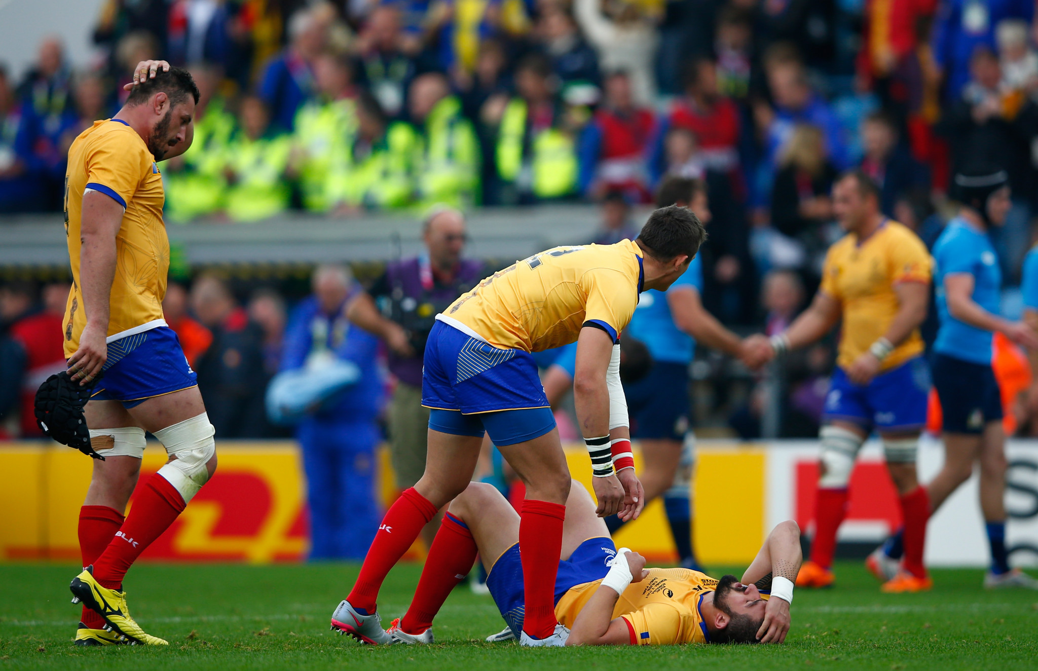 World Rugby-Romania Disqualified