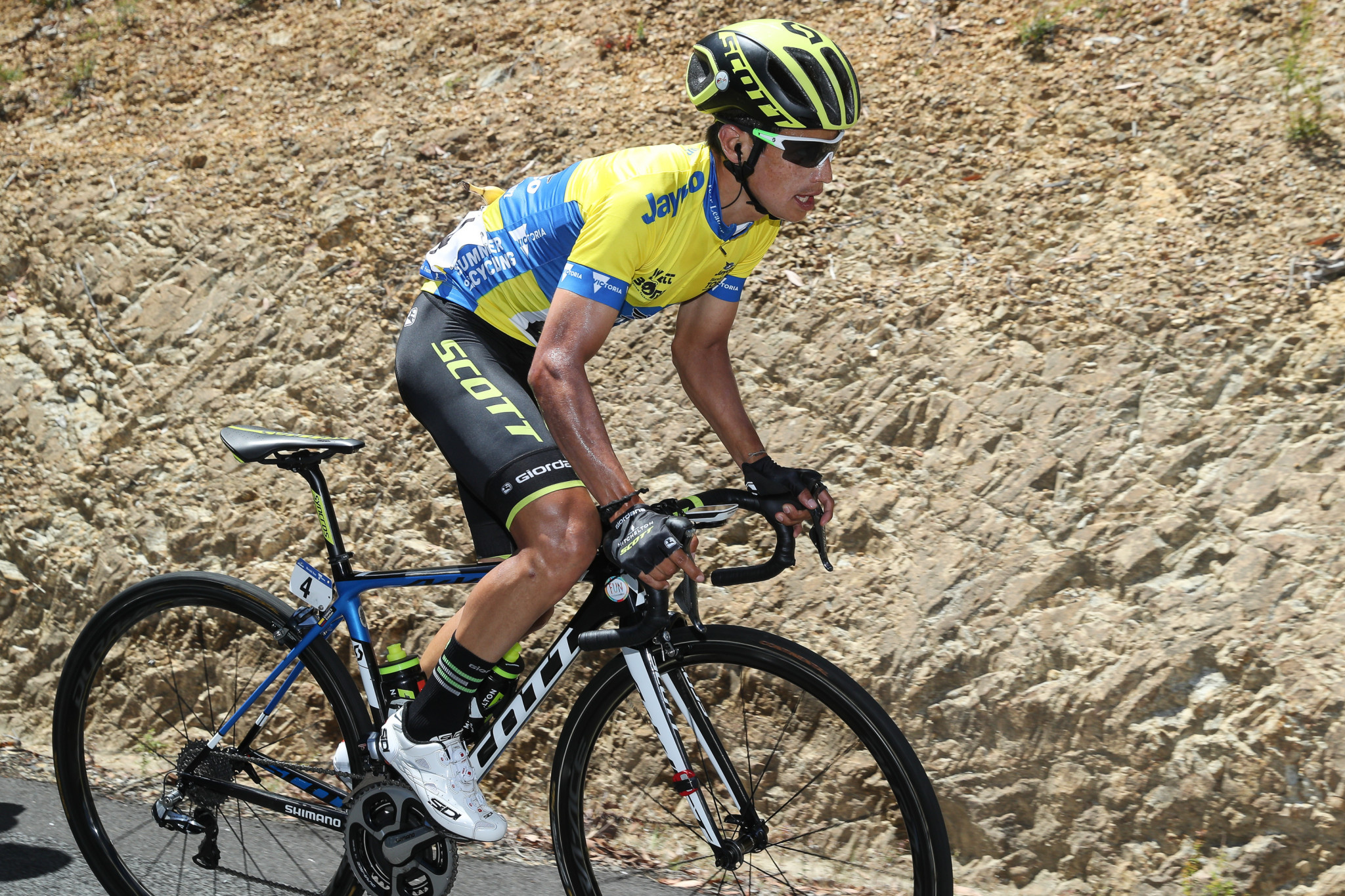 Esteban Chaves has suffered a major setback at the Giro d'Italia