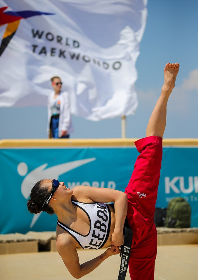 Eighteen countries took part in all on the Greek island ©World Taekwondo
