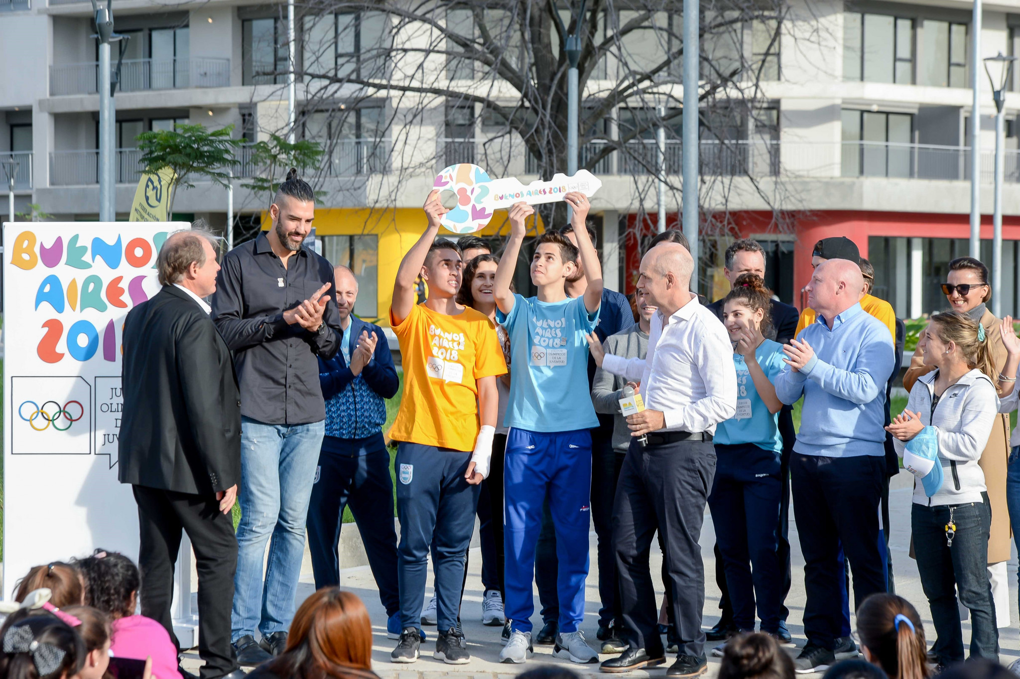 Athletes' Village formally handed over to Buenos Aires 2018 in special ceremony