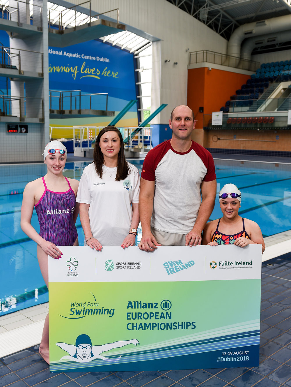 Tickets released for Dublin 2018 World Para Swimming European Championships