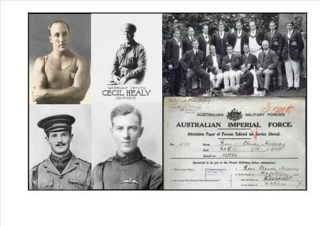 Gold medallist Freeman leads Anzac Day commemorations remembering Australian Olympians