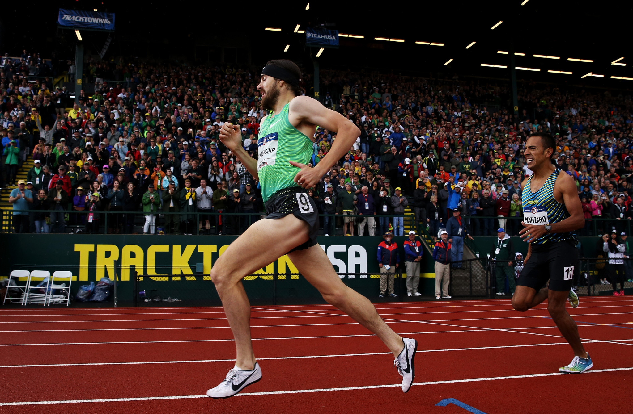 Hayward Field in Eugene has hosted the past three Olympic trials ©Getty Images