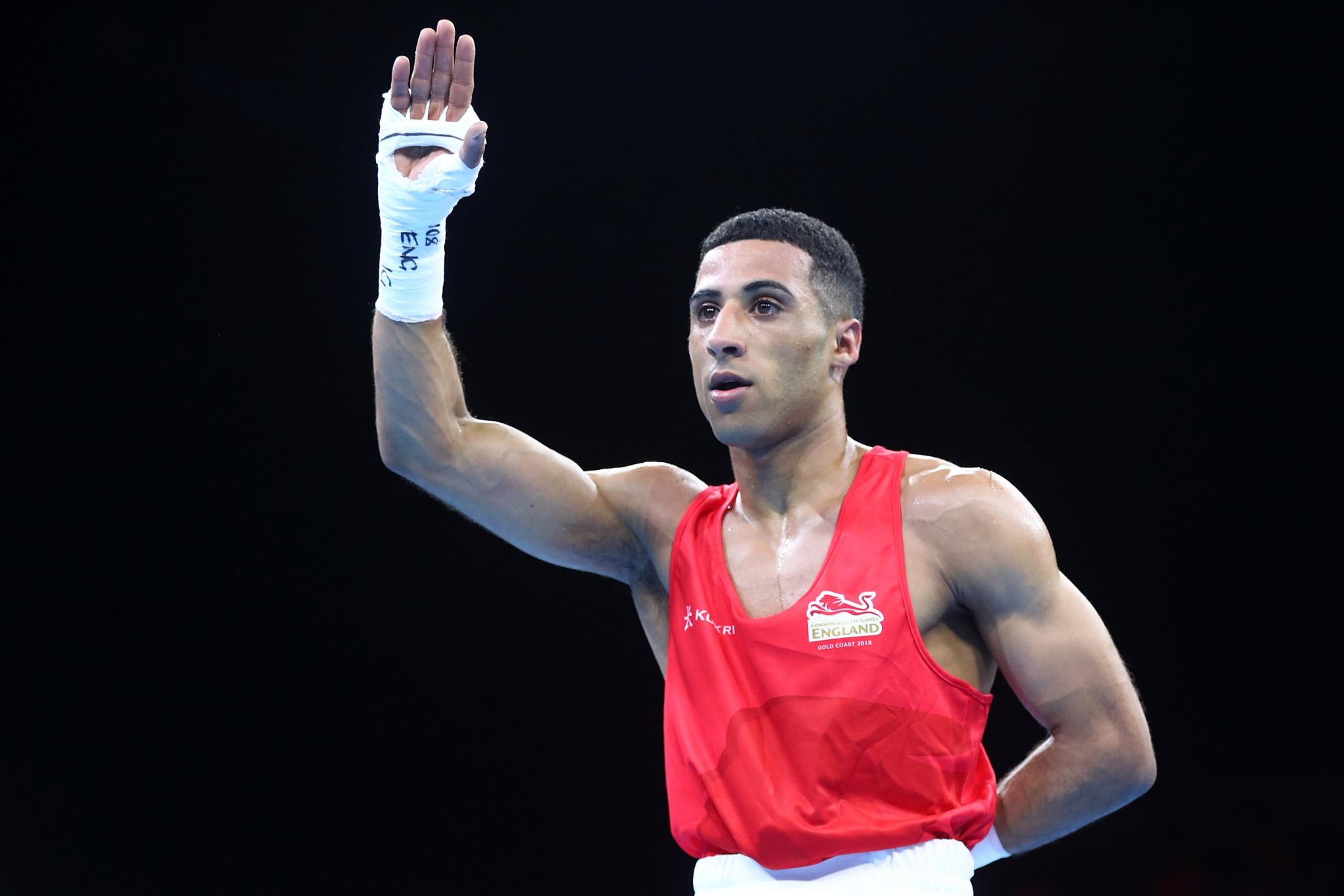 Galal Yafai won the light flyweight title at Gold Coast 2018 ©Getty Images