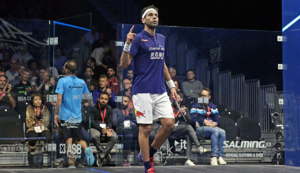 Elshorbagy pulls off another incredible comeback at PSA British Open