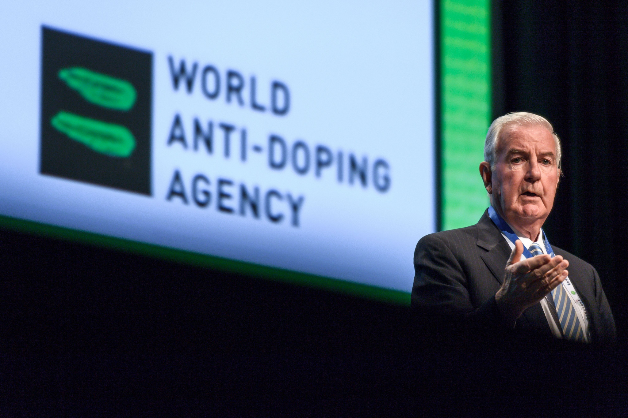 WADA President Sir Craig Reedie has repeatedly insisted the organisaton would not back down on the reinstatement criteria ©Getty Images