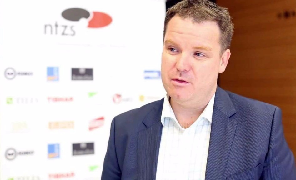 Steve Dainton was appointed ITTF chief executive last July ©YouTube