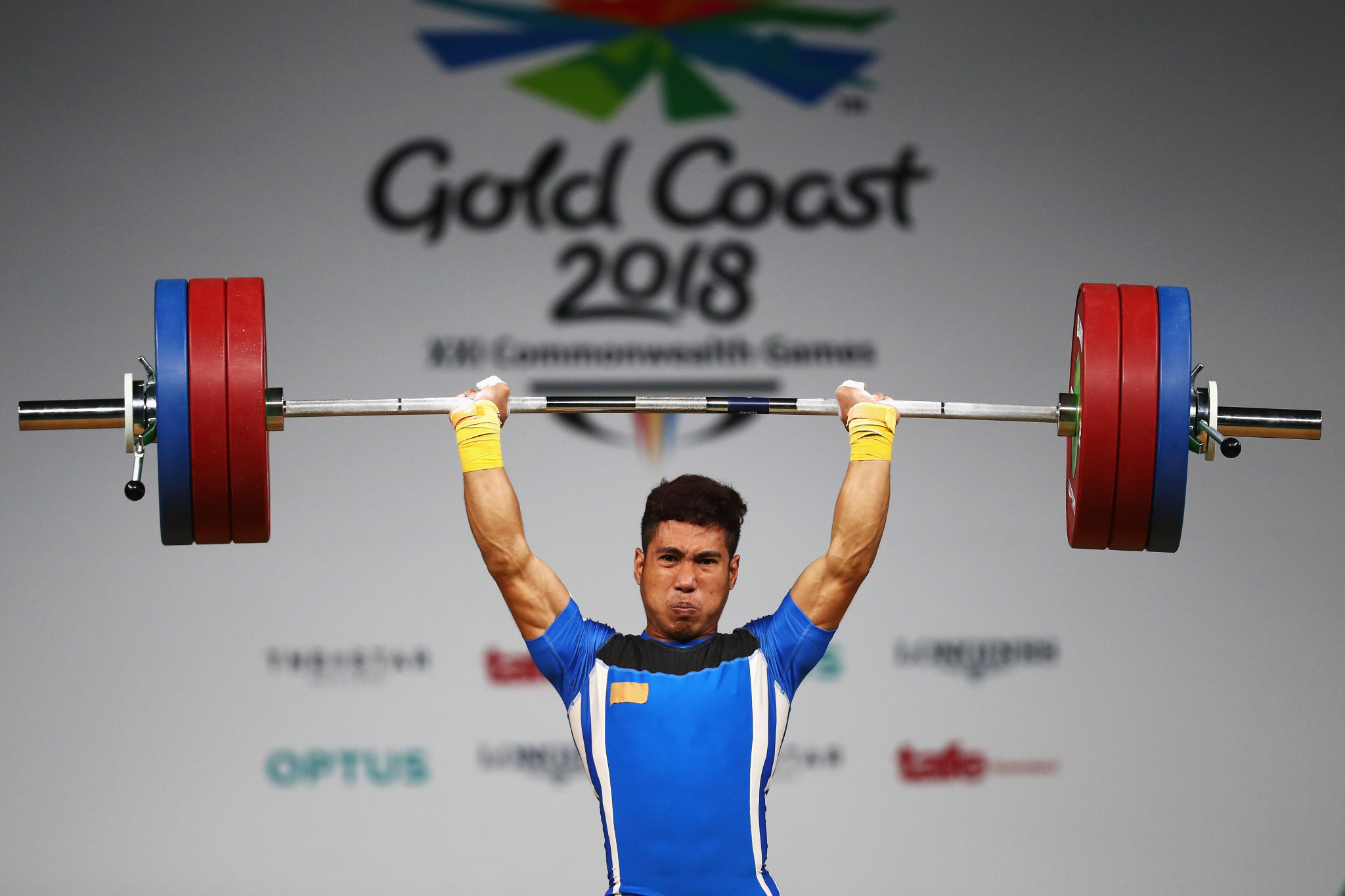 Muhamad Aznil Bidin won Malaysian gold at Gold Coast 2018 ©Getty Images