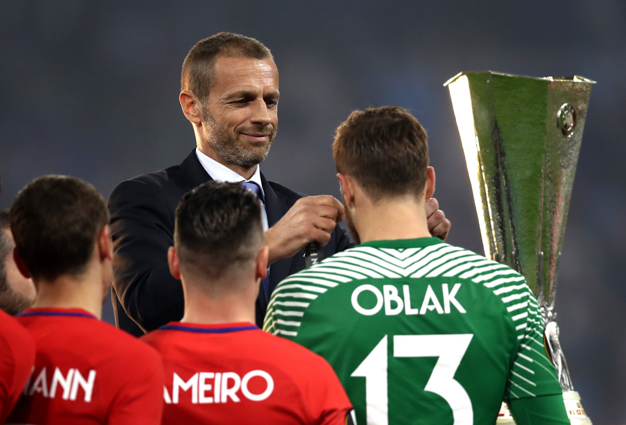 UEFA President Aleksander Ceferin was among the attendees at the meeting ©Getty Images