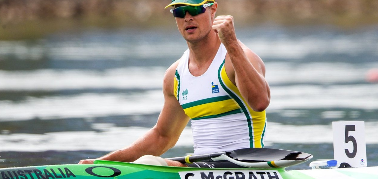 Curtis McGrath was among other Paralympic champions to star on the opening day ©ICF