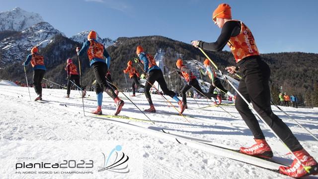 Planica will host the 2023 FIS Nordic World Championships ©Planica 2023